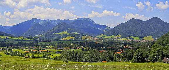 [Translate to Englisch:] Ruhpolding Panorama