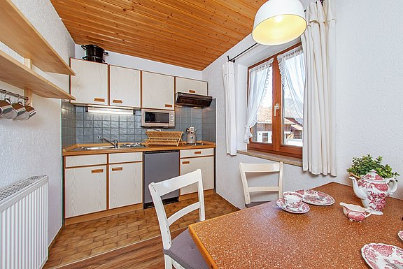 Kitchen in the apartment Wildschütz